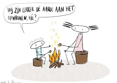 de-aarde-opwarmen