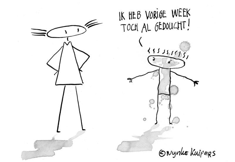 gedoucht