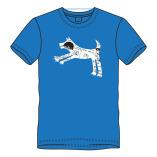 T-shirt springhond
