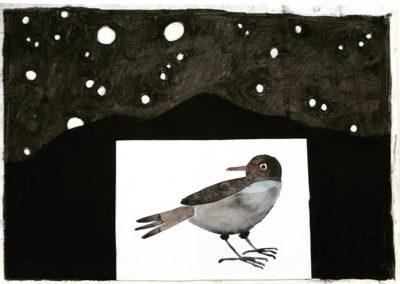 Vogels (Houtskool)